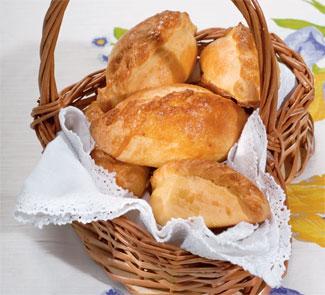 Пирожки с рисом и зеленым луком