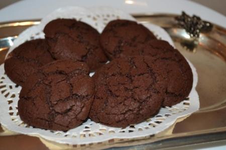 Быстрое шоколадное печенье
