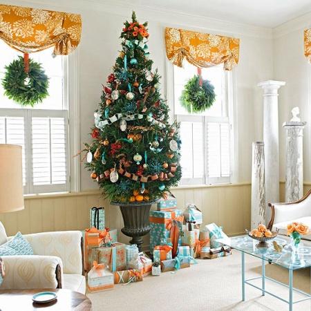 Идеи новогоднего украшения