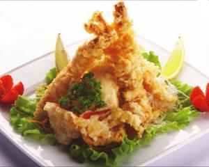Японская темпура из овощей и морепродуктов