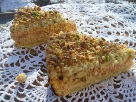 Тыквенный пирог с ароматом роз