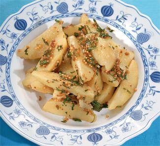 Горчичный картофель