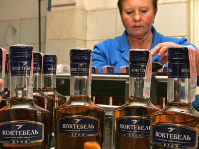 Обанкротился винно-коньячный завод Коктебель