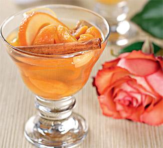 Десерт Пьяные фрукты