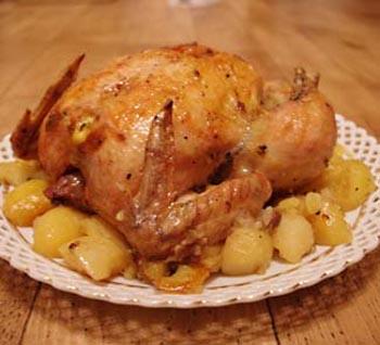 Курица в аэрогриле с картошкой