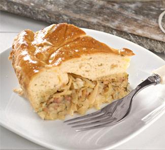 Пирог с молодой капустой