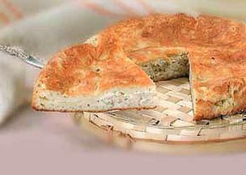 Рыбный пирог в аэрогриле