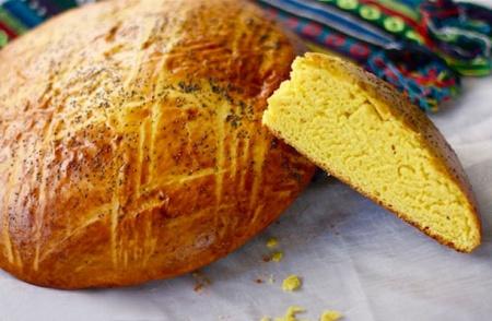 Сладкий дрожжевой хлеб на молоке