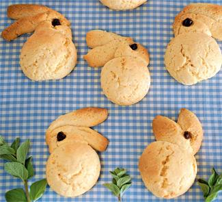 Пасхальное печенье Кролики