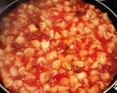 Соус из утки с помидорами (для пасты)