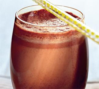 Молочно-шоколадный коктейль