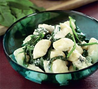 Ньокки с голубым сыром