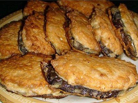 Баклажаны в «мясной шубе»