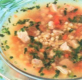 Перловый суп по-шотландски