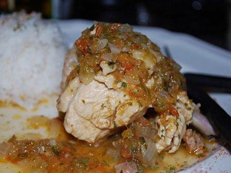 «Сухая» курица по-эквадорски (Seco de Gallina)