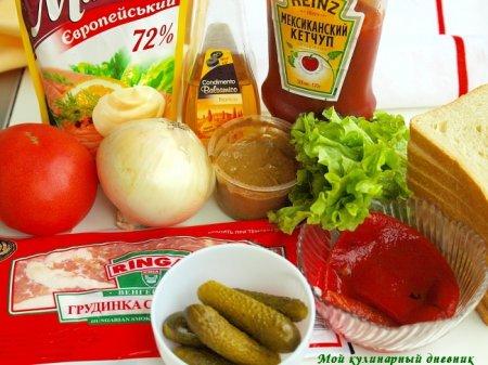 BLT сендвич