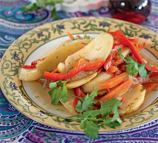 Димлама, узбекское блюдо