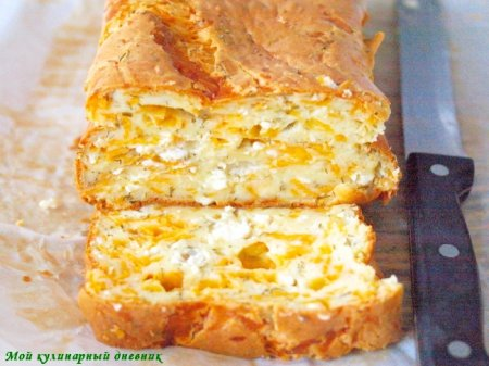 Сырный кекс