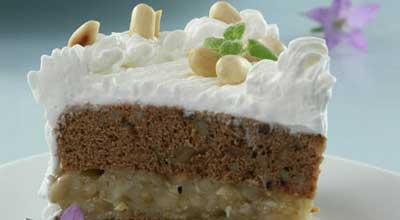 Арахисовый торт