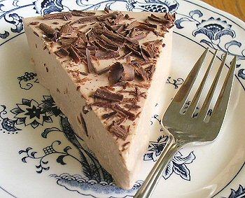 Чизкейк из молочного шоколада