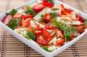 Салат из овощей по-тайски