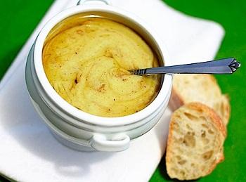 Суп-пюре из картофеля с брокколи