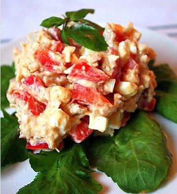 Венгерский мясной салат
