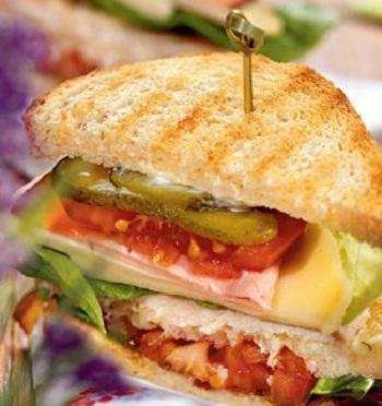 Трехслойный сэндвич