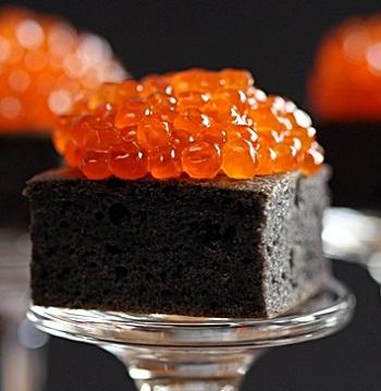 Черно-красные тартинки