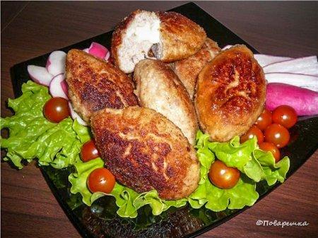 Котлеты куриные с сыром а ля 'Пожарские'