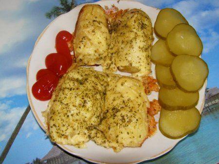 Запеченый картофель под сыром