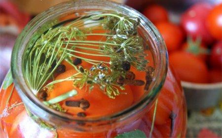 Заготовка помидор без уксуса