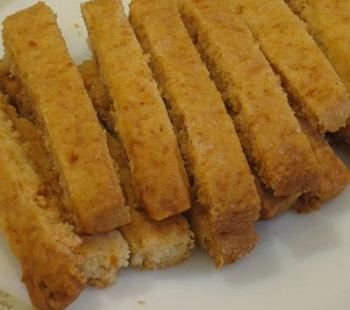 Печенье с медом и апельсинами