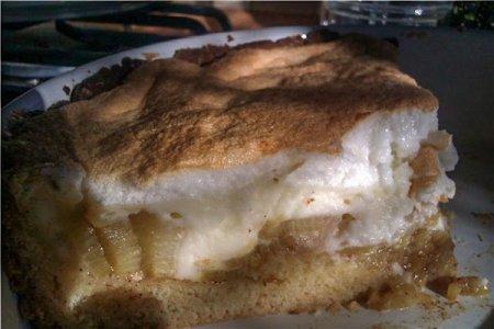 Ревеневый пирог