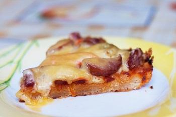 Рецепт пиццы «Кастелуччо»