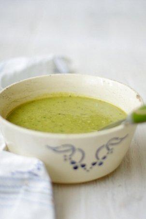 Сырный крем-суп с сельдереем