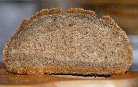 Ржаной хлеб на меду