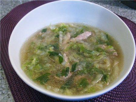 Китайский быстрый суп с фунчозой