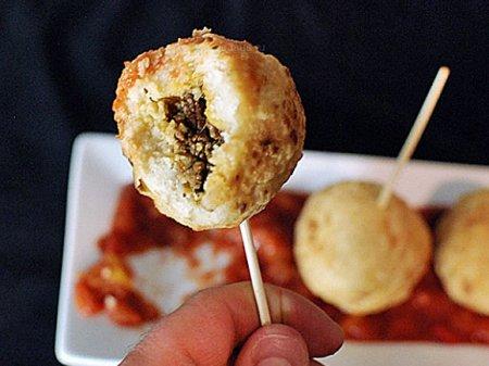Мексиканские мясные тамале