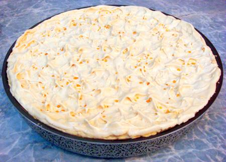 Пирог «Слезы Ангела» с ананасовым кремом