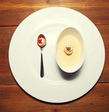 Японский суп «Чаша на пару»