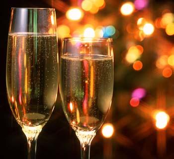10 идей для украшения новогоднего стола 2013