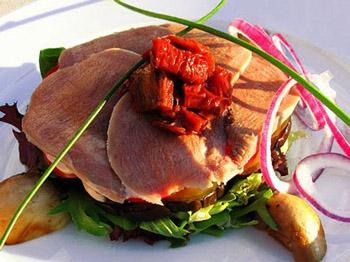Теплый салат «Яки»