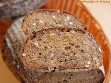 Финский мультизерновой хлеб