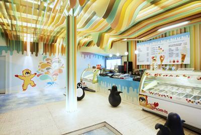 Замок мороженого