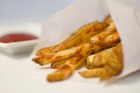 Полезный картофель фри