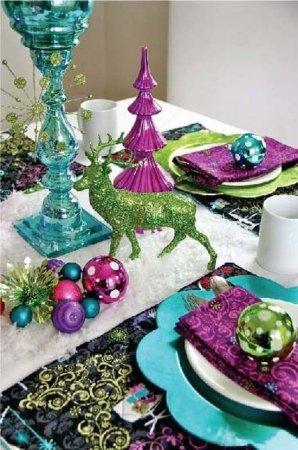 Рождественский декор. Голубой