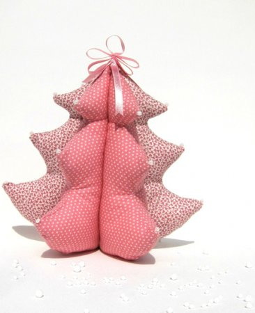 Рождественский декор. Розовый