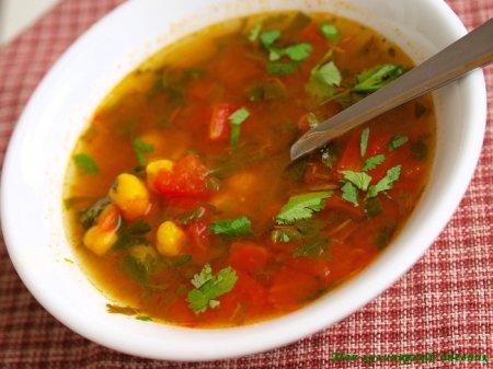 Харира (марокканский суп с нутом)