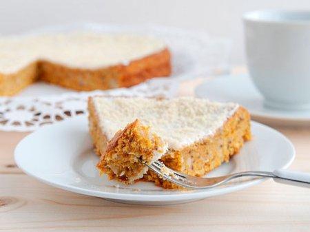Морковный пирог по-швейцарски